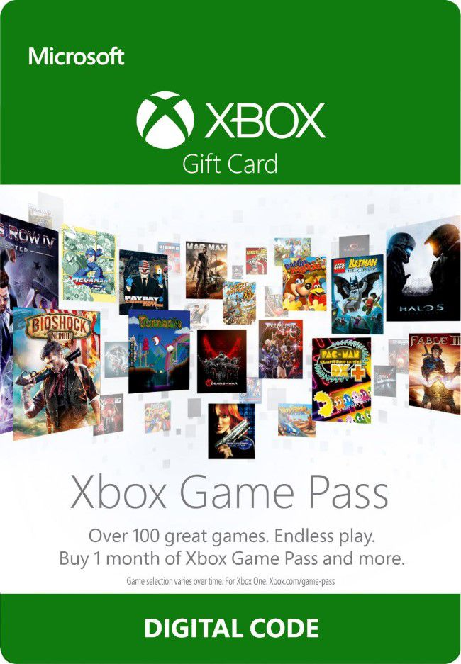 Assinatura Xbox Game Pass (1 Mês) - XBOX One