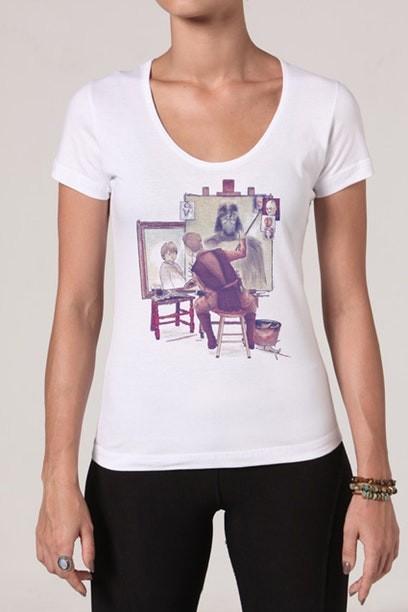 Camiseta Anakins Portraits - Feminina