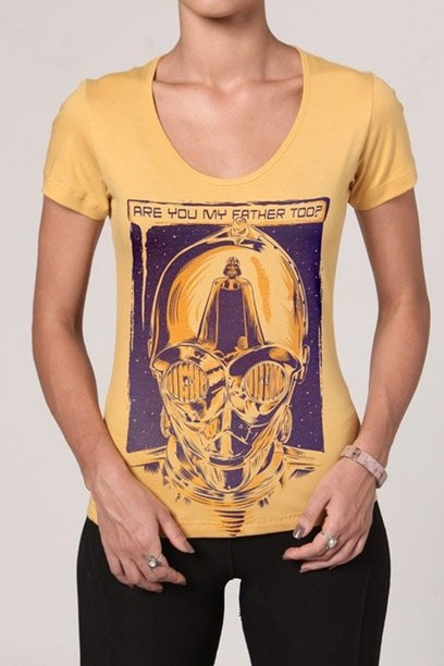 Camiseta Droid I am Your Father - Feminina  - FastGames