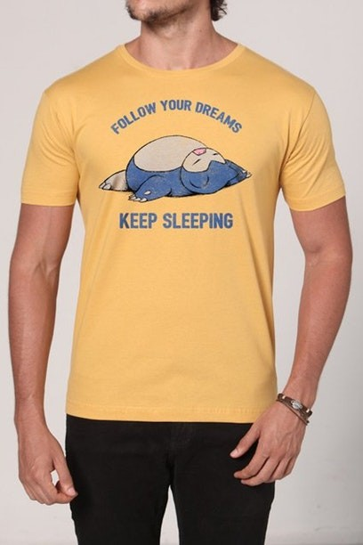 Camiseta Follow Your Dreams - Masculina - FastGames