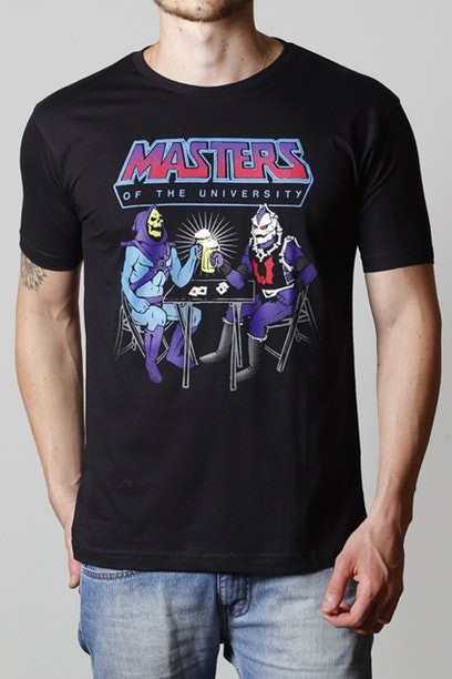 Camiseta Masters Of The University - Masculina  - FastGames