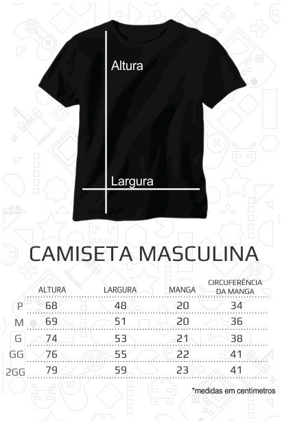 Camiseta The XX - Masculina  - FastGames
