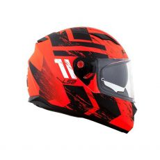 Capacete LS2 FF320 Stream Hunter Matte Orange/ Black