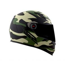 Capacete LS2 FF358 Army Matte Black/ Military Green