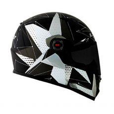 Capacete LS2 FF358 Brilliant Matte Black/Titanium