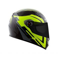 Capacete LS2 FF358 Touring Black/Grey/Yellow