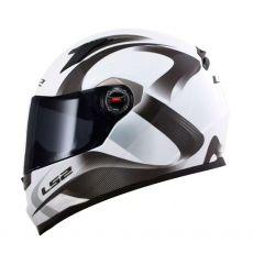 Capacete LS2 FF358 Velvet White/Grey