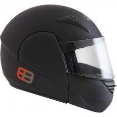 Capacete Moto Rocop Articulado Ebf E8 Preto Fosco