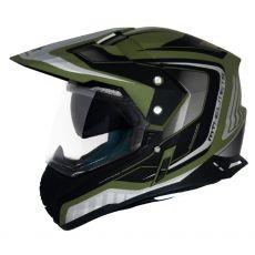Capacete Mt Helmets Duo Sport SV Tourer Army Matt Green/Black