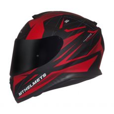 Capacete Mt Helmets Thunder 3 Effect Matt Black e Red