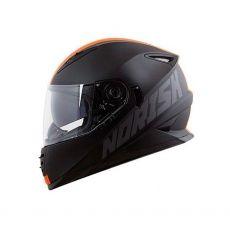 Capacete Norisk FF302 Stone Matte Black / Orange