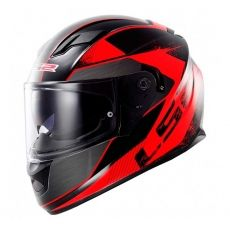 Capacete LS2 FF320 Stream Stingers Black / Red