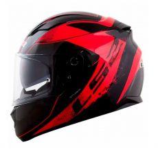 Capacete LS2 FF320 Stream Stingers Black / Red