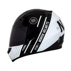 Capacete Norisk FF391 Knight Black/White