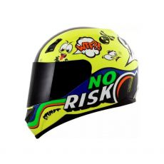 Capacete Norisk FF391 Panic Fluo Yellow