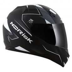 Capacete Norisk FF391 Stripes Matte Black / Grey / White
