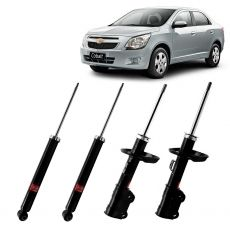Kit Amortecedores Kyb Chevrolet Cobalt 2011 Em Diante