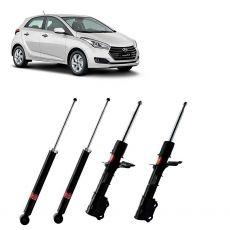 Kit Amortecedores Kyb Hyundai HB20 2013 Em Diante