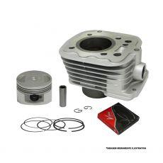Kit Cilindro Completo (com pistão e anéis) Vini Honda Fan 125 05/08, Titan 125 02/04