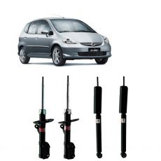 Kit Amortecedores Dianteiros e Traseiros Honda Fit 2003 Até 2008