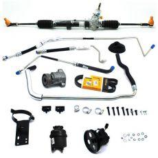 Kit De Direção Hidráulica Do Chevrolet Celta Prisma 1.0 Vhc E Prisma 1.4 De 2009 Em Diante Nova Montana 2011 Em Diante (Modelos Sem Ar Condicionado)