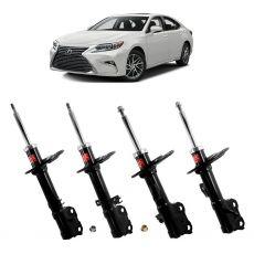 Kit Amortecedores Dianteiros Traseiros Kyb LD/LE Lexus ES350 3.5 2013 até 2016