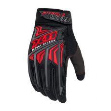 Luva X11 Nitro 3 Tecido Preto Vermelho