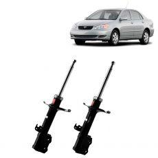 Par Amortecedores Dianteiros Kyb Toyota Corolla 2003 Até 2008