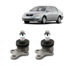 Par Pivôs Suspensão Inferior LD/LE Toyota Corolla e Fielder 2002 até 2008