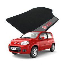 Tapete Carpete Bordado Fiat Novo Uno Com Logo