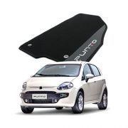 Tapete Carpete Bordado Novo Fiat Punto 2013 2014 Com Logo