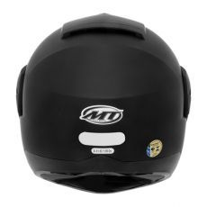 Capacete Mt Helmets Optimus Solid Matt Black