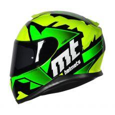 Capacete Mt Helmets Thunder 3 Torn Yellow/Green Fluor