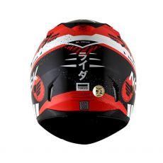 Capacete Norisk FF391 Tokio Matte Black/Red/White