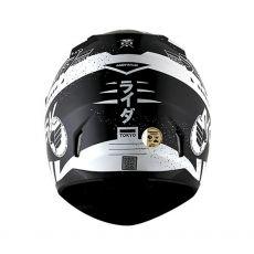 Capacete Norisk FF391 Tokio Matte Black/White