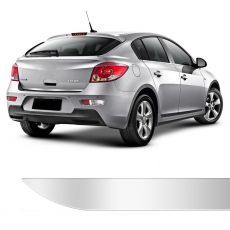 Friso Porta Malas Chevrolet Cruze Hatch Cromado Resinado