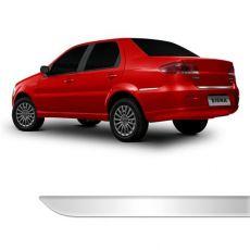 Friso Porta Malas Fiat Siena até 2010 Cromado Resinado