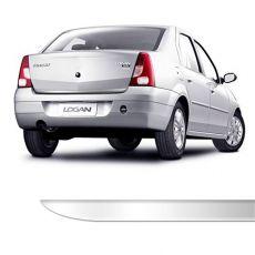 Friso Porta Malas Renault Logan Até 2012 Cromado Resinado