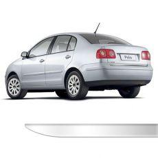 Friso Porta Malas Volkswagen Polo Sedan Cromado Resinado