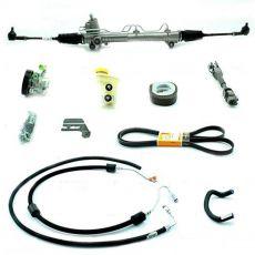 Kit De Direção Hidráulica Do Ford Fiesta Street Courier 1.0/1.6 Motor Zetec Rocam De 2000 Em Diante (Modelos Com Ar Condicionado Original)