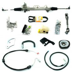Kit De Direção Hidráulica Do Ford Fiesta Street Courier 1.0/1.6 Motor Zetec Rocam De 2000 Em Diante (Modelos Sem Ar Condicionado) (Fixação Para Bomba 4 Parafusos)