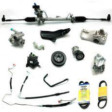 Kit De Direção Hidráulica Do Volkswagen Fox 1.0/1.6 De 2004 Até 2008 (Modelos Sem Ar Condicionado)