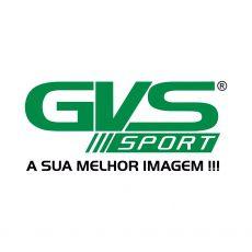 Retrovisor Moto Gvs Para Honda Asa Preto Lente Prata (Par)