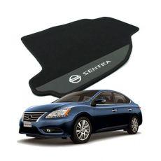 Tapete Carpete Bordado Nissan Sentra Com Logo