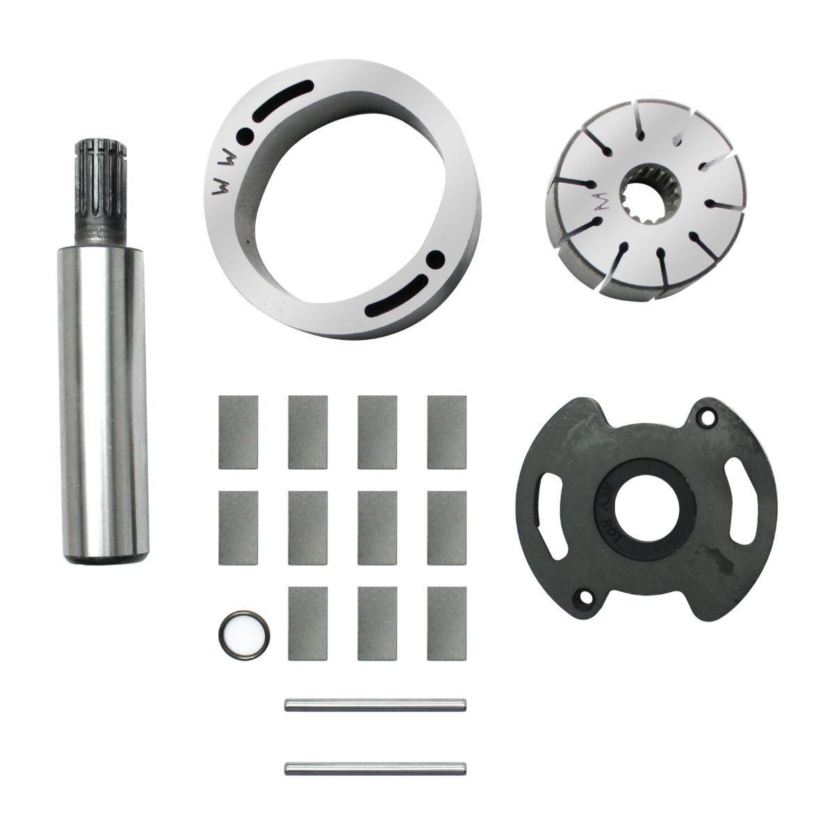 Conjunto Rotativo Bombas Dhb Rotrev Chevrolet S10 / Mercedes-Benz Sprinter (Todas Rotação Esquerda) Rotor Fornecido Com 01 Placa Fina