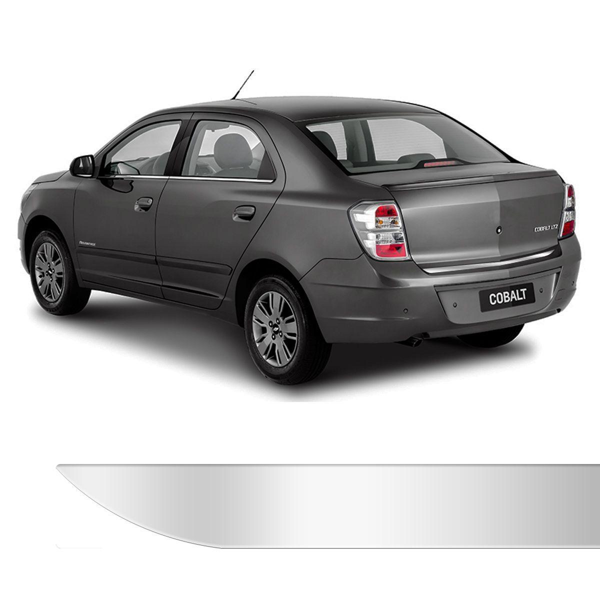 Friso Porta Malas Chevrolet Cobalt Cromado Resinado
