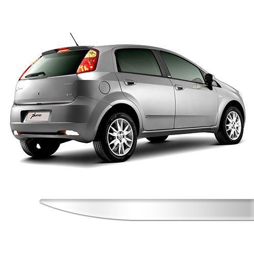 Friso Porta Malas Fiat Punto até 2012 Cromado Resinado