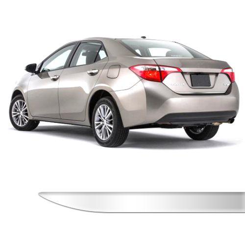 Friso Porta Malas Toyota Novo Corolla Cromado Resinado