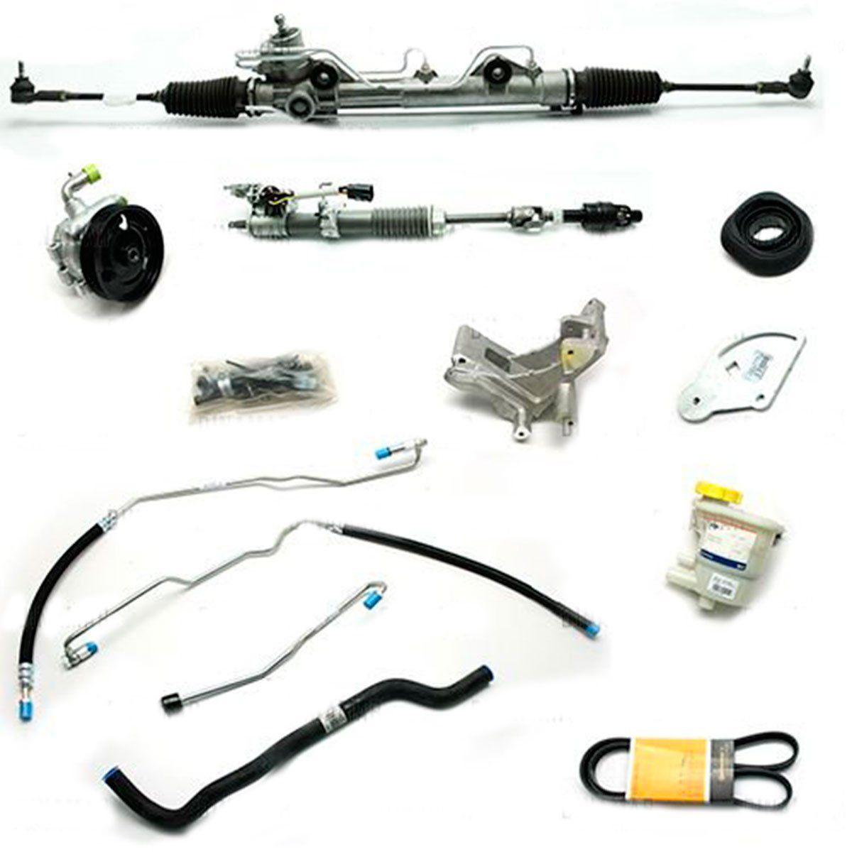 Kit De Direção Hidráulica Do Ford Ka 1.0/1.6 Zetec Rocam De 2000 Até 2007 (Modelos Sem Ar Condicionado)