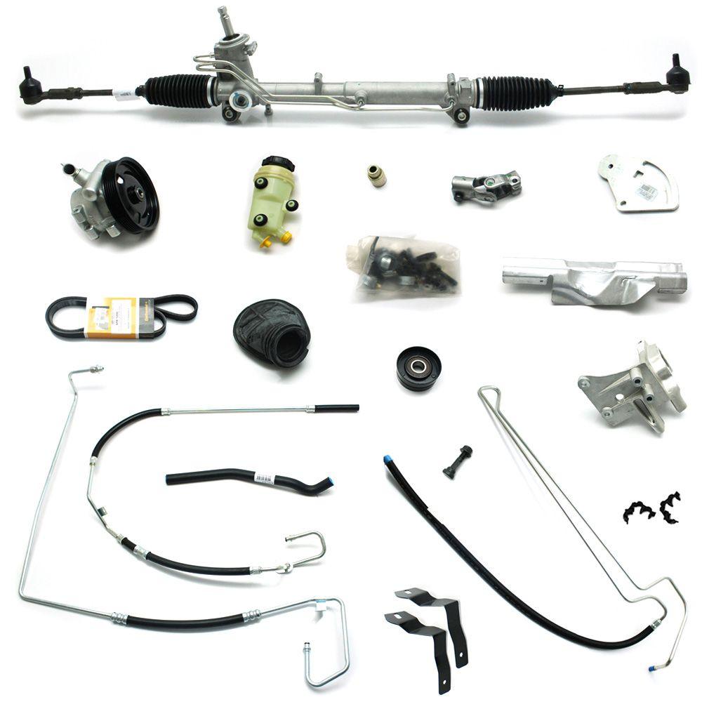 Kit De Direção Hidráulica Do Ford Novo Ka 1.0/1.6 De 2008 Em Diante (Modelos Com Ar Condicionado Visteon Instalado)